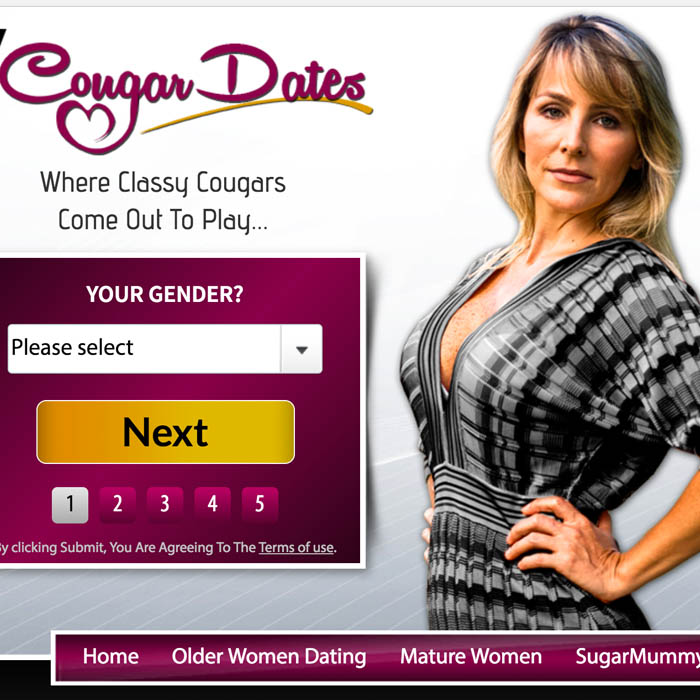 My Cougar Dates Review - Top 5 Cougar Dating Sites